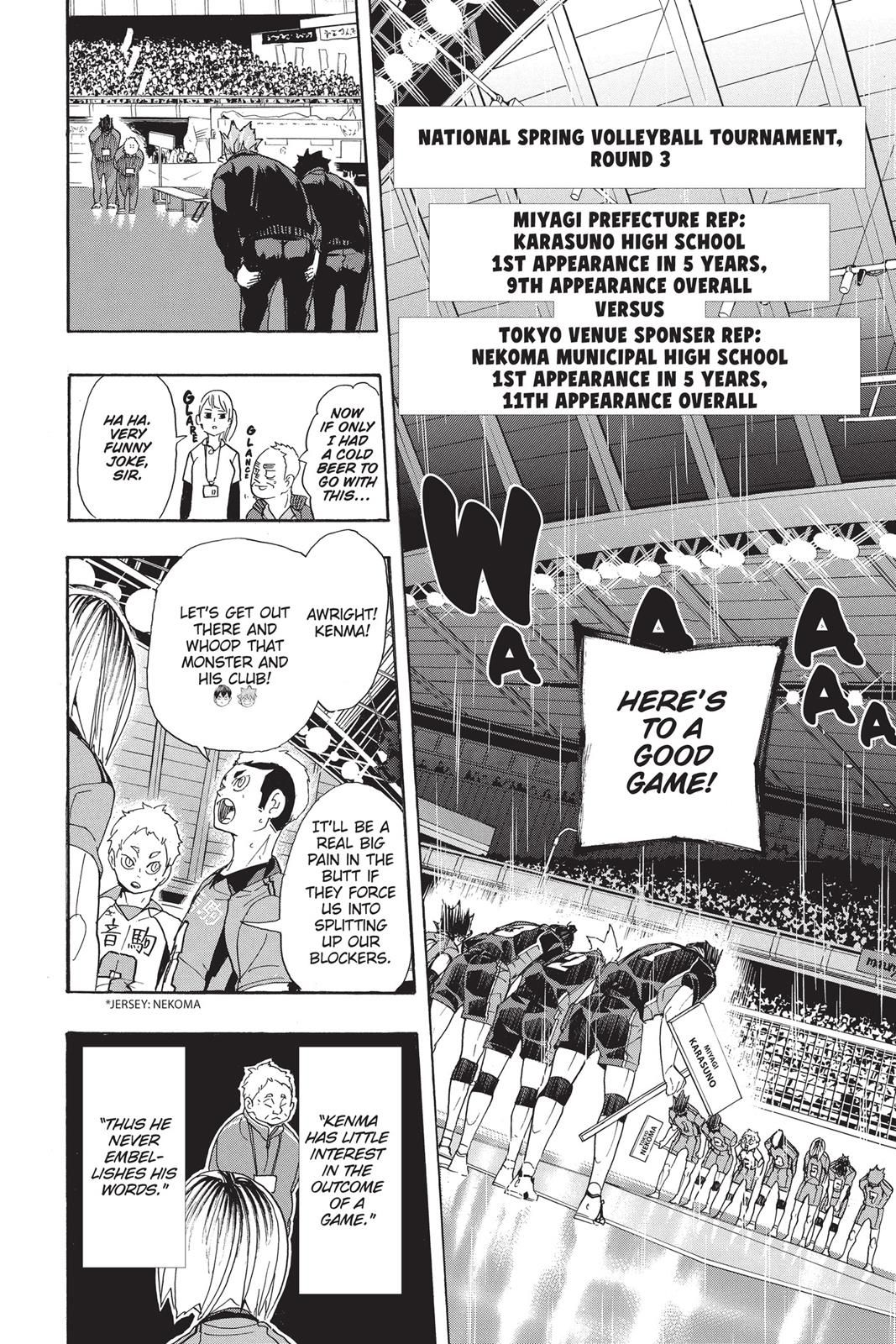 Haikyuu Chapter 293 Read Haikyuu Manga Online In 2020 Haikyuu Haikyuu Manga Manga