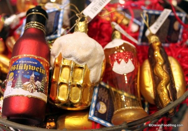 Fun Find: Food Christmas Ornaments in Epcot's Germany Pavilion   the disney  food blog - Fun Find: Food Christmas Ornaments In Epcot's Germany Pavilion The