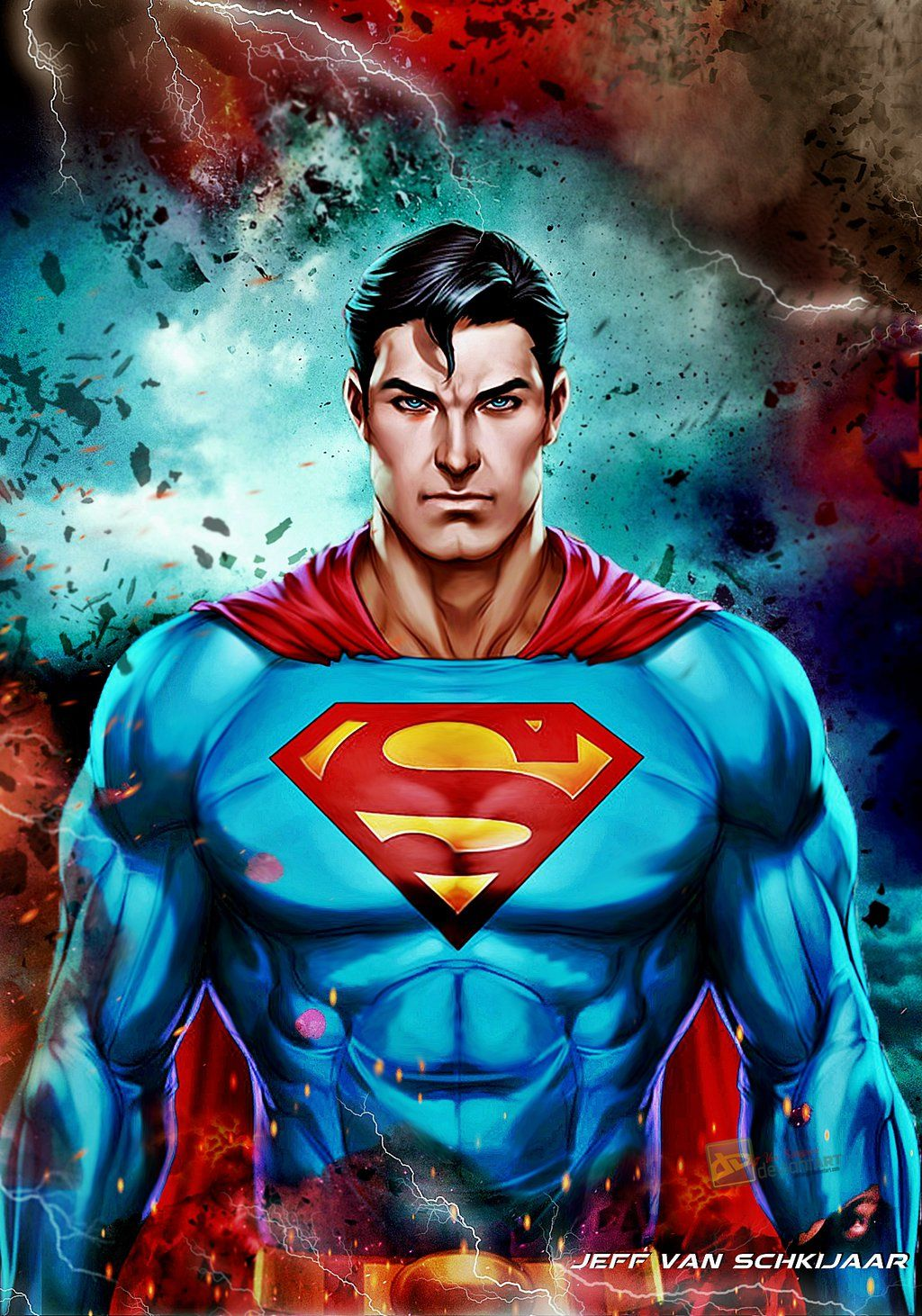 Superman Justice League Doom Poster by jeffery10 ...
