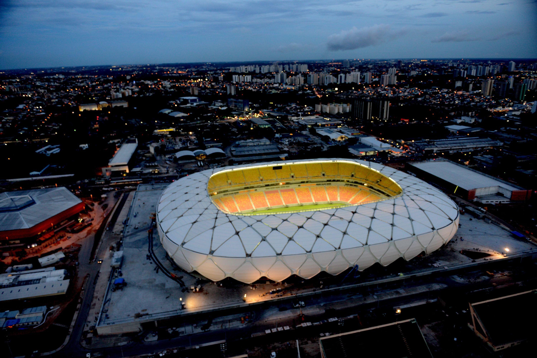 Pin By Lenka Polcerova On Football World Cup Stadiums Brazil World Cup Fifa World Cup
