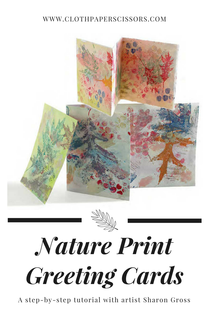 Original Watercolor Greeting Card Inspirational Nature Art in Watercolor Watercolor Leaf Print Greeting Card Nature Lovers Greeting Card
