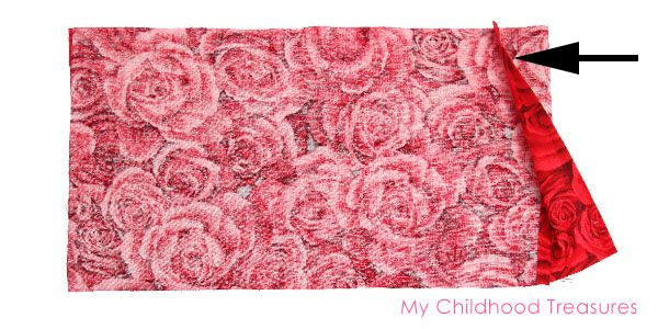 Doll Pillowcase Pattern for 18 Dolls - 2 Pretty Styles | TREASURIE