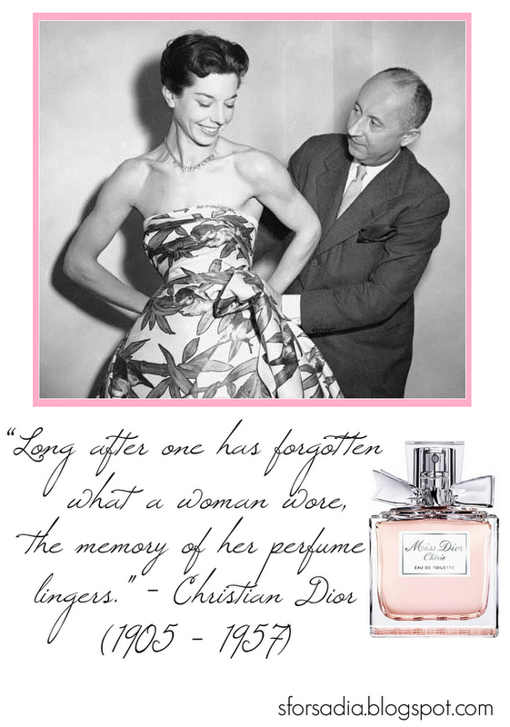 My Signature Fragrance Dior Quotes Miss Dior Fragrance Quote