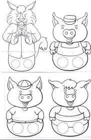 Resultado De Imagem Para Historia Dos Tres Porquinhos Os Tres