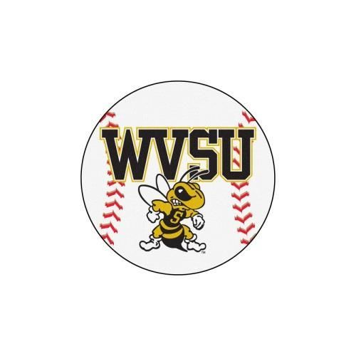 West Virginia State University NCAA Baseball Round Floor