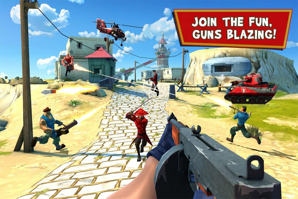 New: Blitz Brigade - Online multiplayer shooting action! - http ...