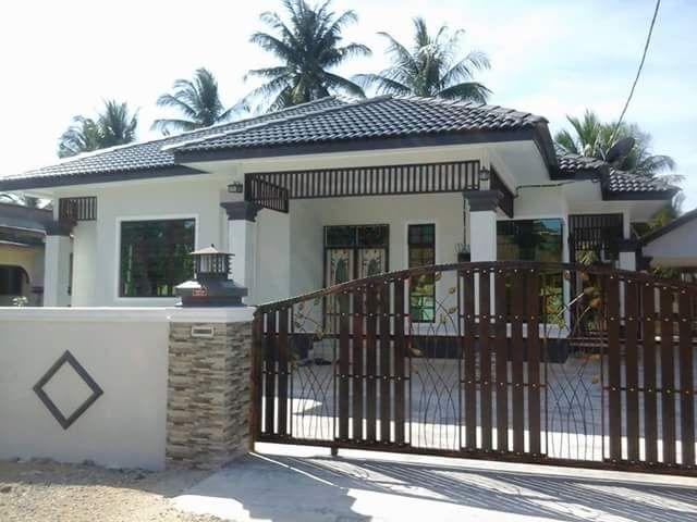 Banglo Design Modern Di Badang Pcb Spesifikasi Keluasan Rumah 1400 Kps