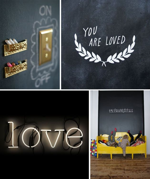 interior design for children chalkboard ideas for kids rooms - Chalkboard Designs Ideas