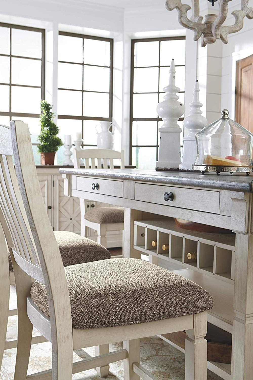 white farmhouse counter height stools