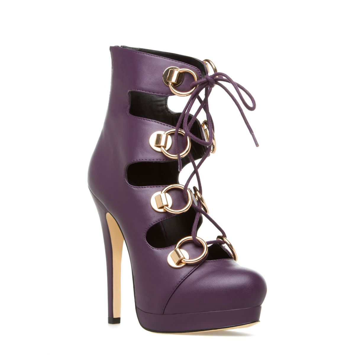 Maclaren - ShoeDazzle - Girly silhouettes and sweet styling on these pretty purple platform pumps.