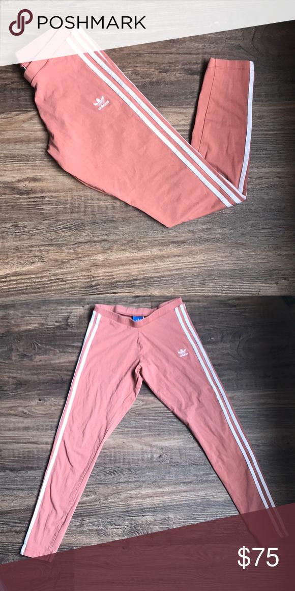 9309d460aa9 Adidas mauve / raw pink leggings Great condition adidas Pants Leggings