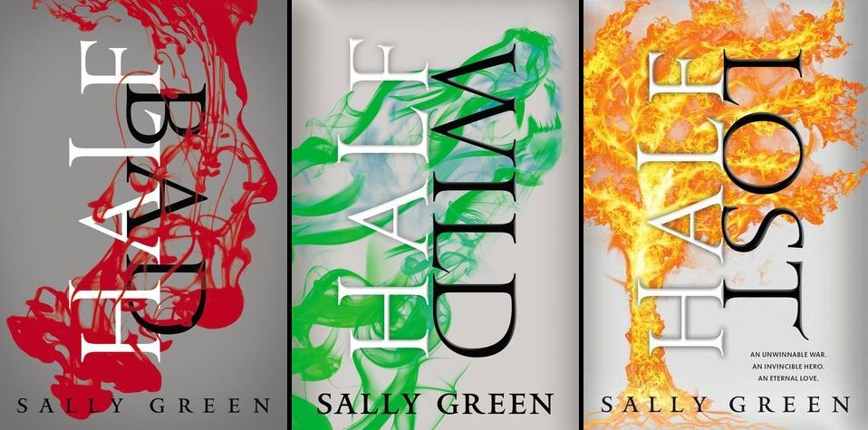 The Half Bad trilogy by Sally Green Chosen by Kat for YA | Green books,  Trilogy, Book worms