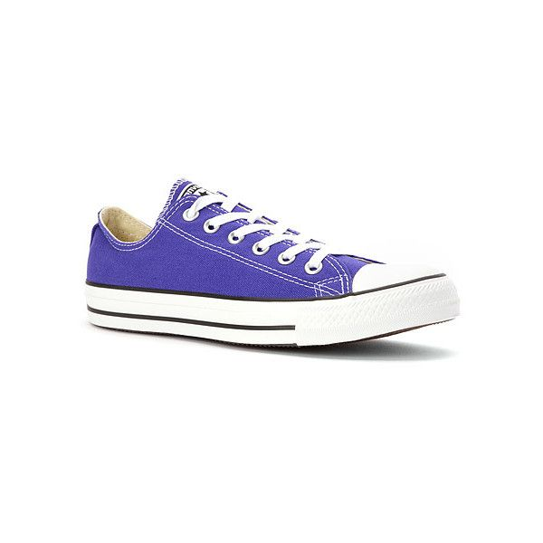 cbd91d8a1432 Converse Chuck Taylor Low Top Sneaker (620 MXN) ❤ liked on Polyvore  featuring shoes