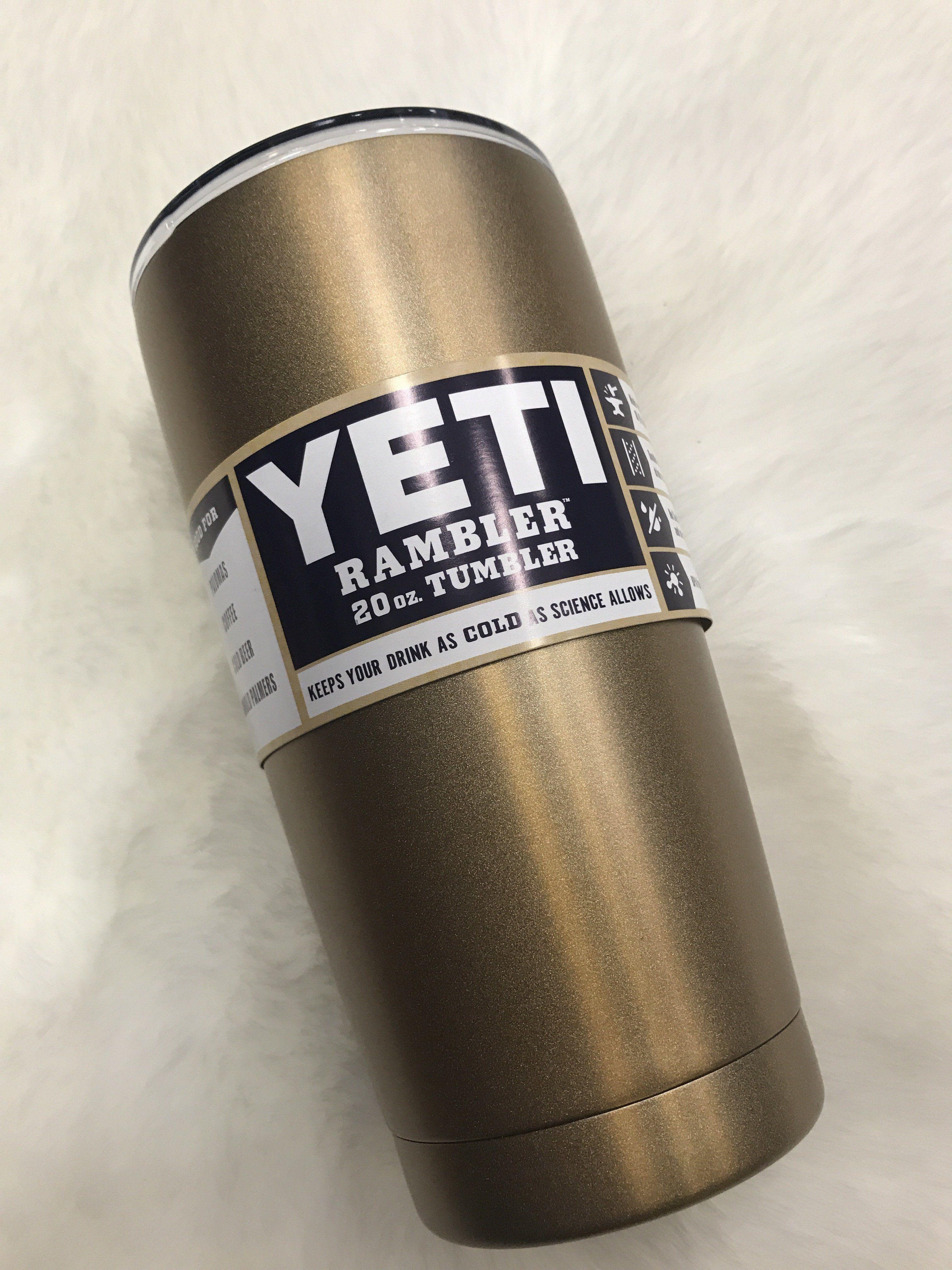 Yeti 20 oz Yeti Gold Flakes Products Pinterest