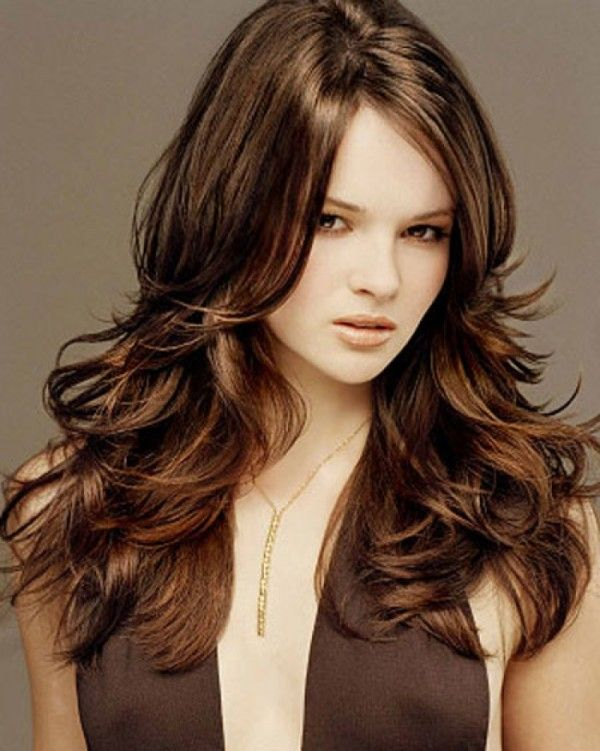 Chocolate Brown Hair Colour With Auburn Highlights Google Search