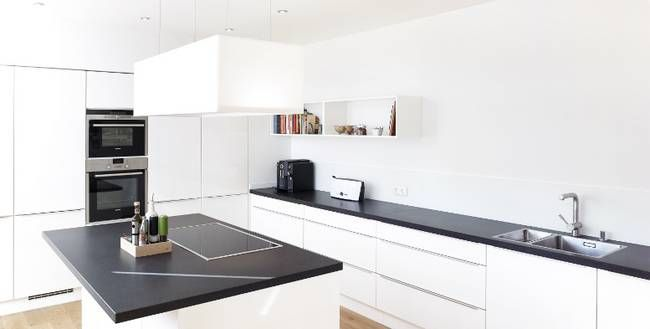 granit arbeitsplatte kuche munchen. Black Bedroom Furniture Sets. Home Design Ideas