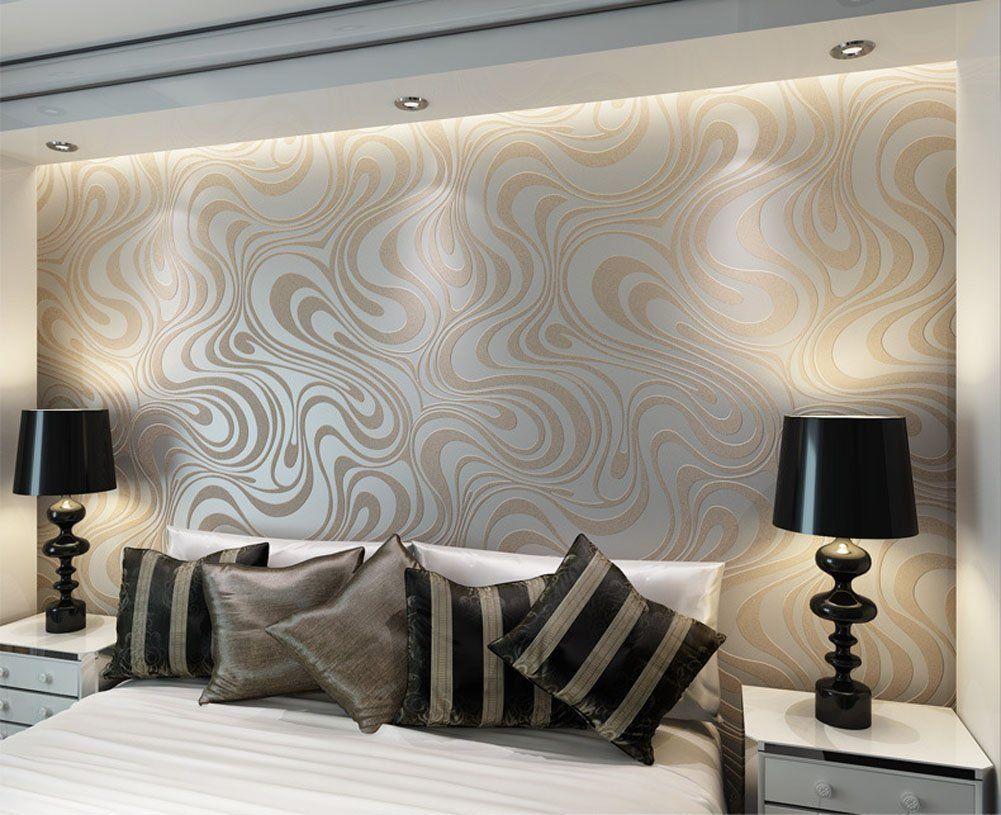 Wallpaper Non Woven Modern Minimalist Yellow Plaid Wallpaper For Livingroom Bedroom Home Decoration Paper Roll