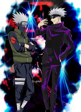 Pin By Akay On Anime Kakashi Anime Crossover Anime