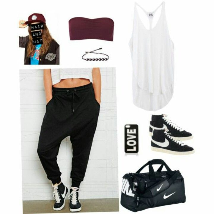plain hip hop workout outfit 11