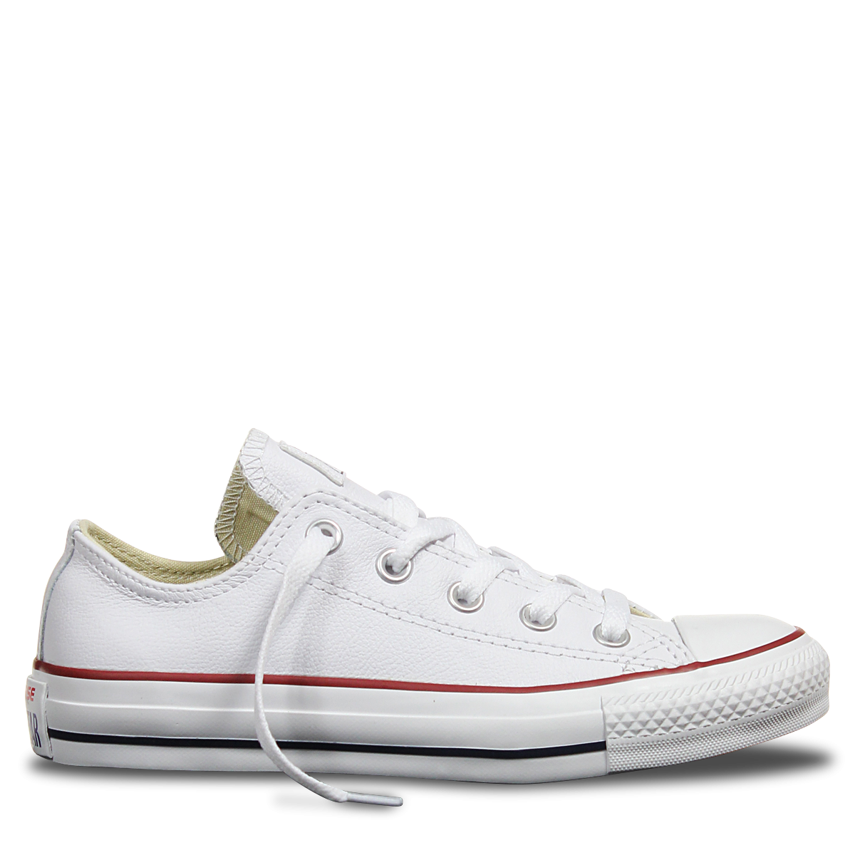 Converse Chuck Taylor All Star Leather Low Top in White