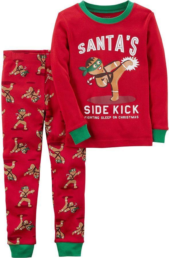 71f90b399d05 Carter s Christmas 2-pc. Pajama Set Boys