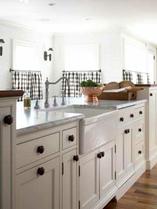 Einzigartige Design Ideen für Küchen mit vielen Fenstern | viele ...