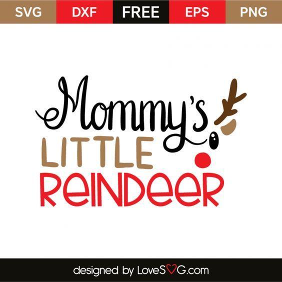 Download Mommy's little reindeer | Christmas svg files, Cricut ...