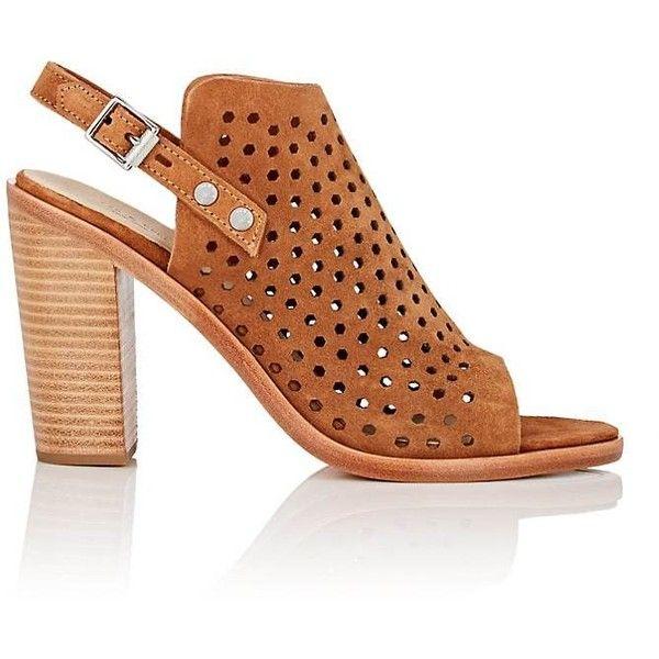 Womens Wyatt Perforated Suede Slingback Sandals Rag & Bone itDa4