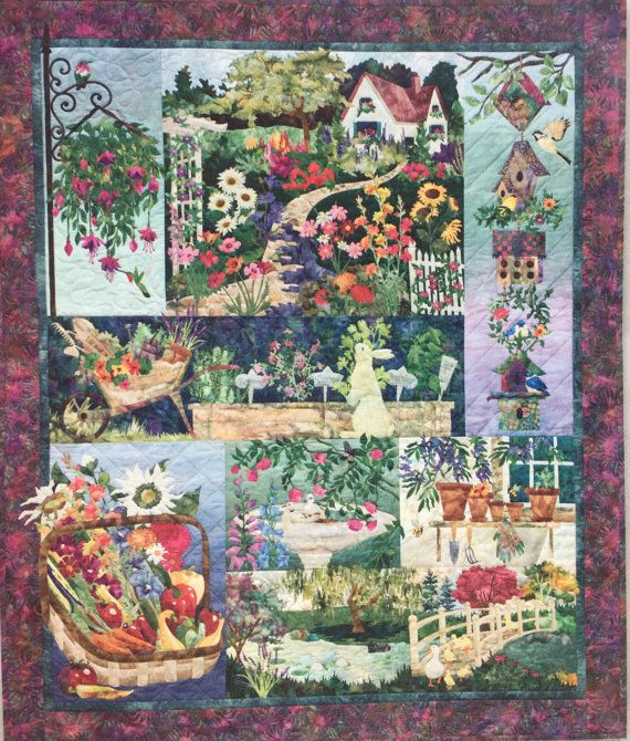 McKenna Ryan Quilt kit-In Full Bloom-quick fuse by LiSaDesignsCo