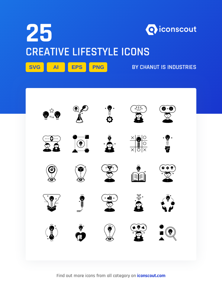Download Download Creative Lifestyle Icon pack - Available in SVG ...