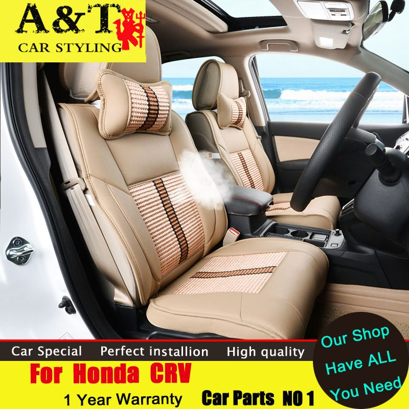 A&T car styling For Honda CRV Seat Covers 2015 2016 For CRV ...
