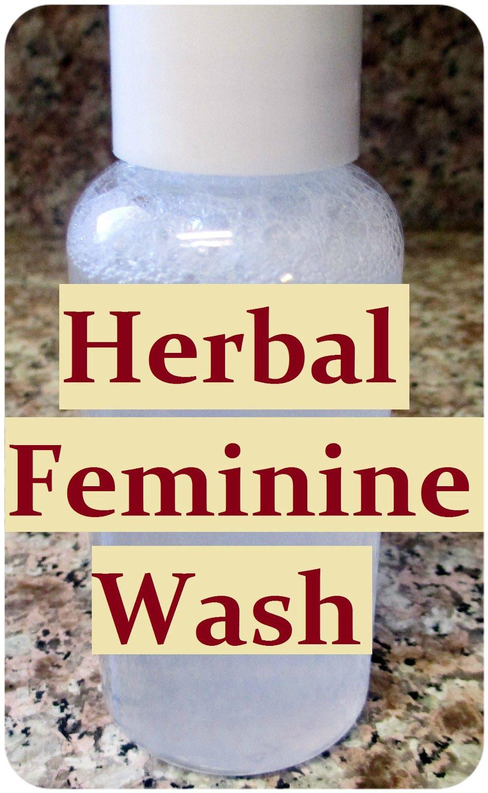 Homemade Herbal Intimate Wash Recipe How to Make DIY