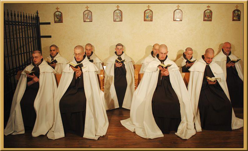 contempletive monks catholic | Carmelite Monks ...