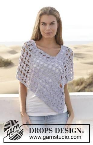 Free Crochet Patterns For Plus Size Ponchos Googleda Ara