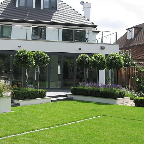 Slate Terrace Contemporary Garden Garden areas Pinterest