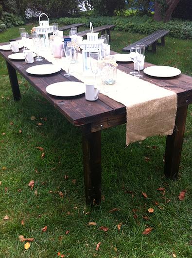 Boston Rustic Wedding Rentals Wedding Furniture Rental Wedding Rentals Rustic Table