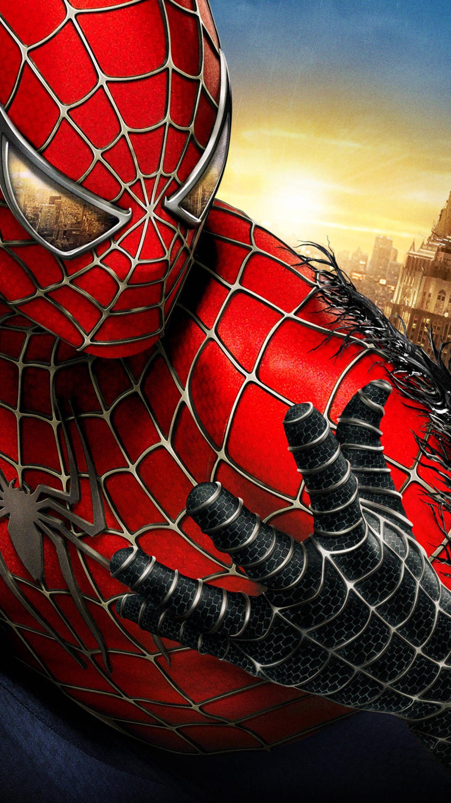 Spider Man 3 2007 Phone Wallpaper Moviemania Spiderman Pictures Spiderman Amazing Spiderman