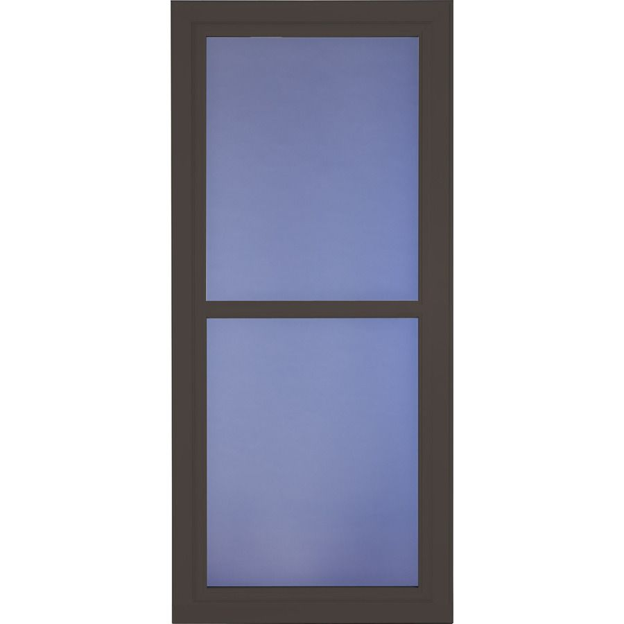LARSON Tradewinds Selection Brown Full-View Aluminum Storm