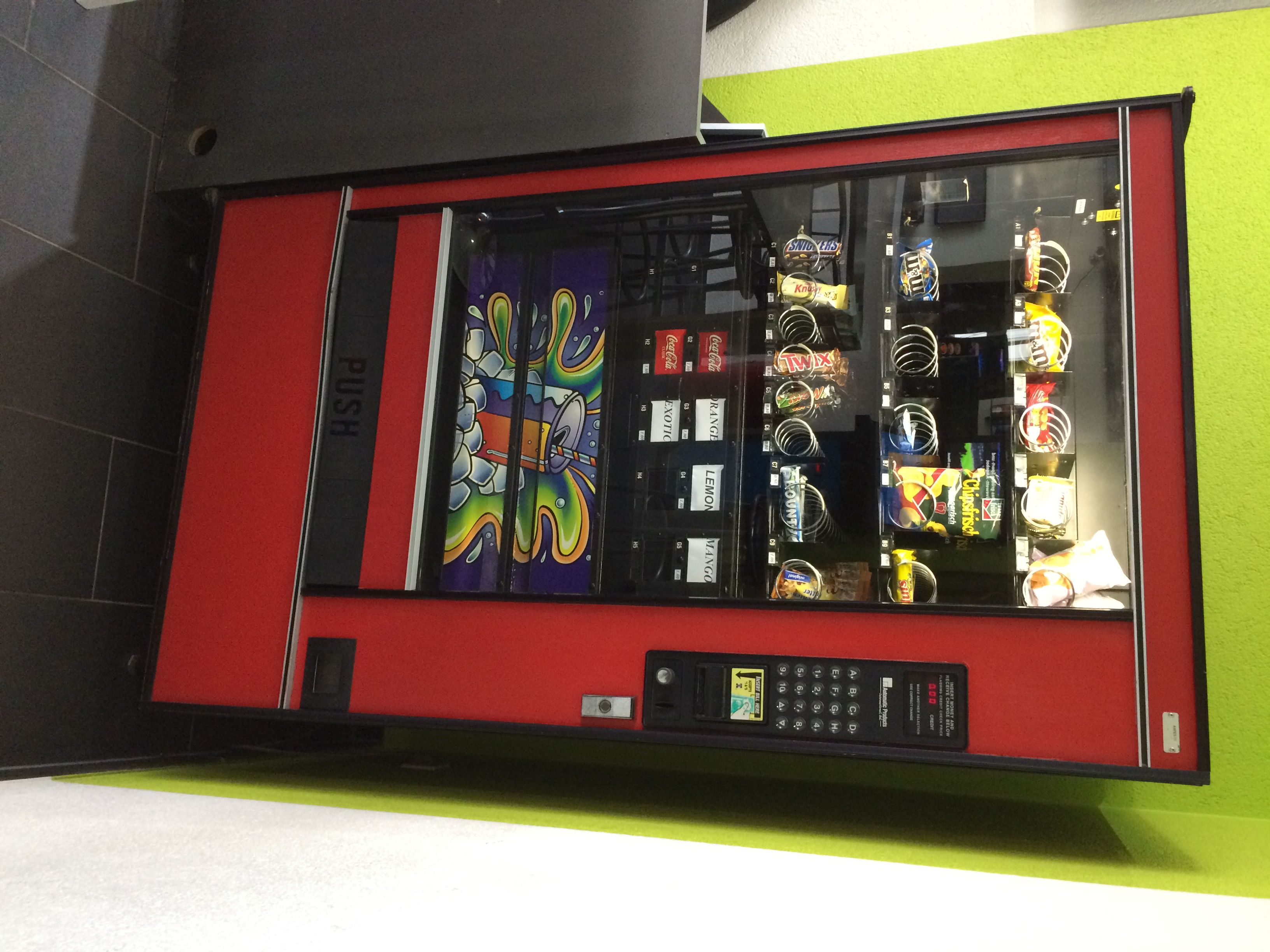 Gebrauchte Snackautomaten und Getränkeautomaten