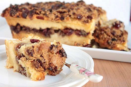 Sugar & Everything Nice: Cinnamon Pecan Coffee Cake
