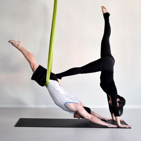 23++ Aerial yoga poses for beginners inspirations