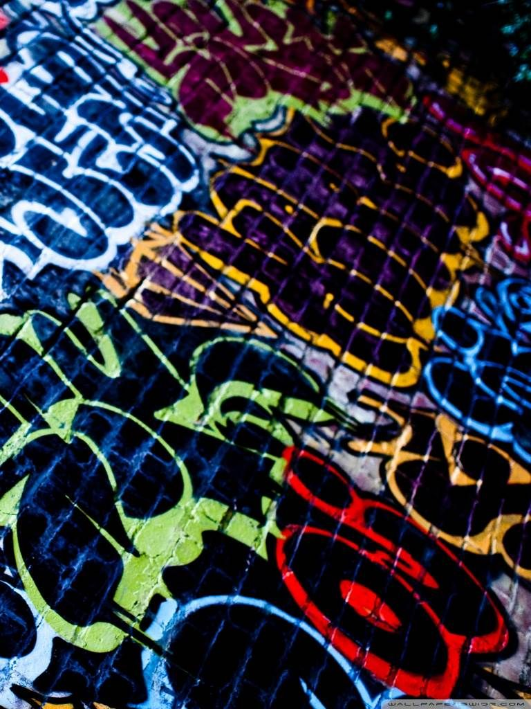 Graffiti HD Desktop Wallpaper Widescreen High Definition 768x1024 Wallpapers For Mobile
