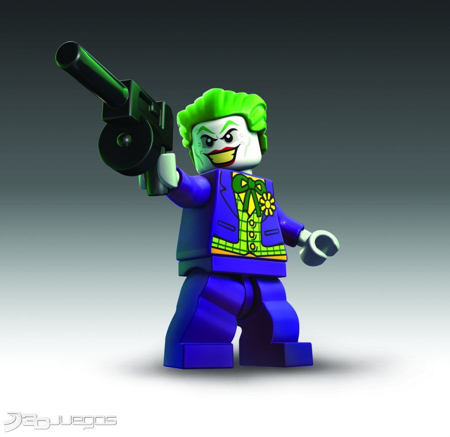 Lego Batman 3 Video Game Custom Joker Inspired Minifigure