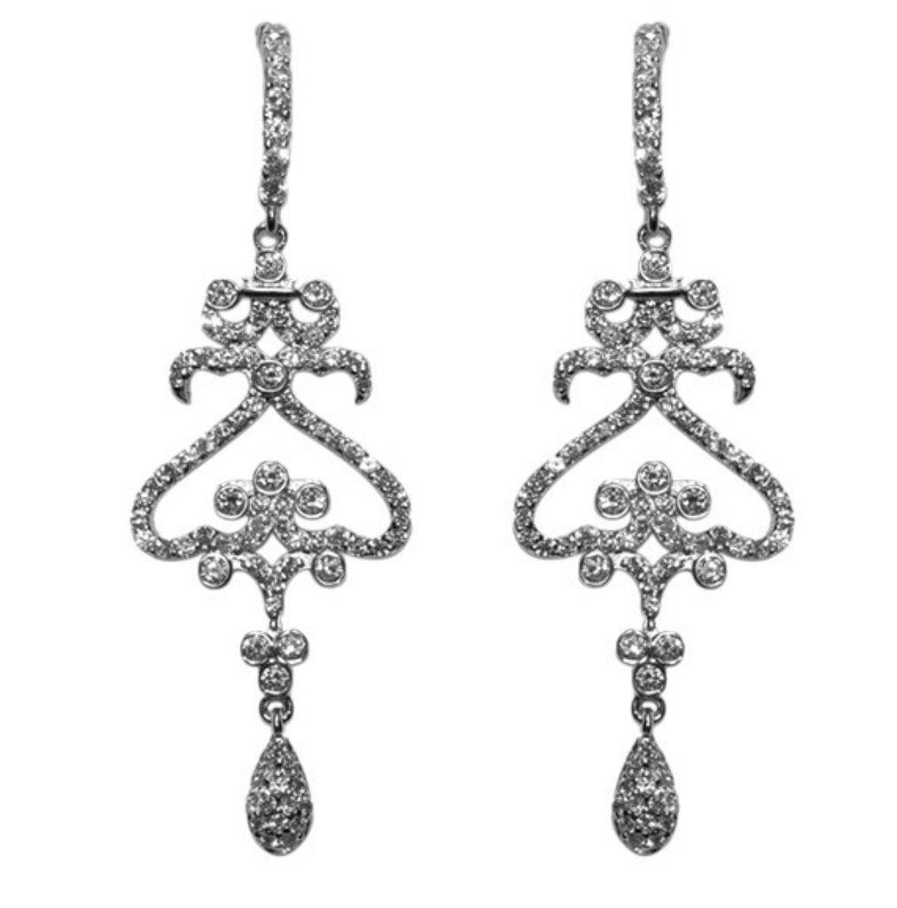Kaden cz drop chandelier earrings cubic zirconia chandelier kaden cz drop chandelier earrings cubic zirconia arubaitofo Choice Image