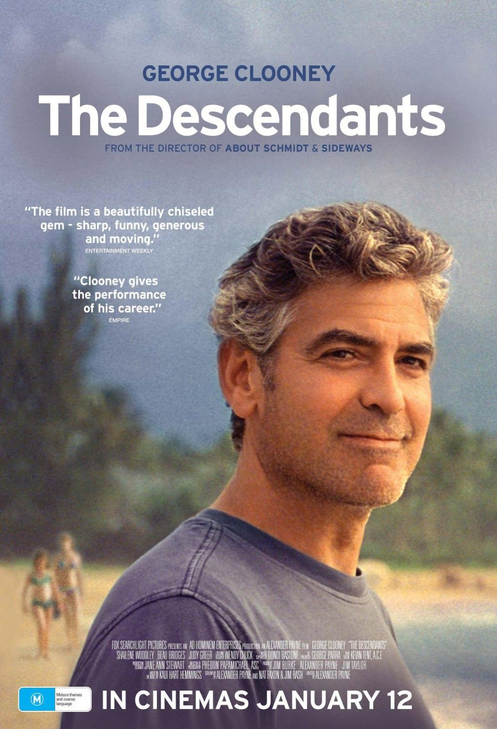 Extra Large Movie Poster Image for The Descendants | MOVIES