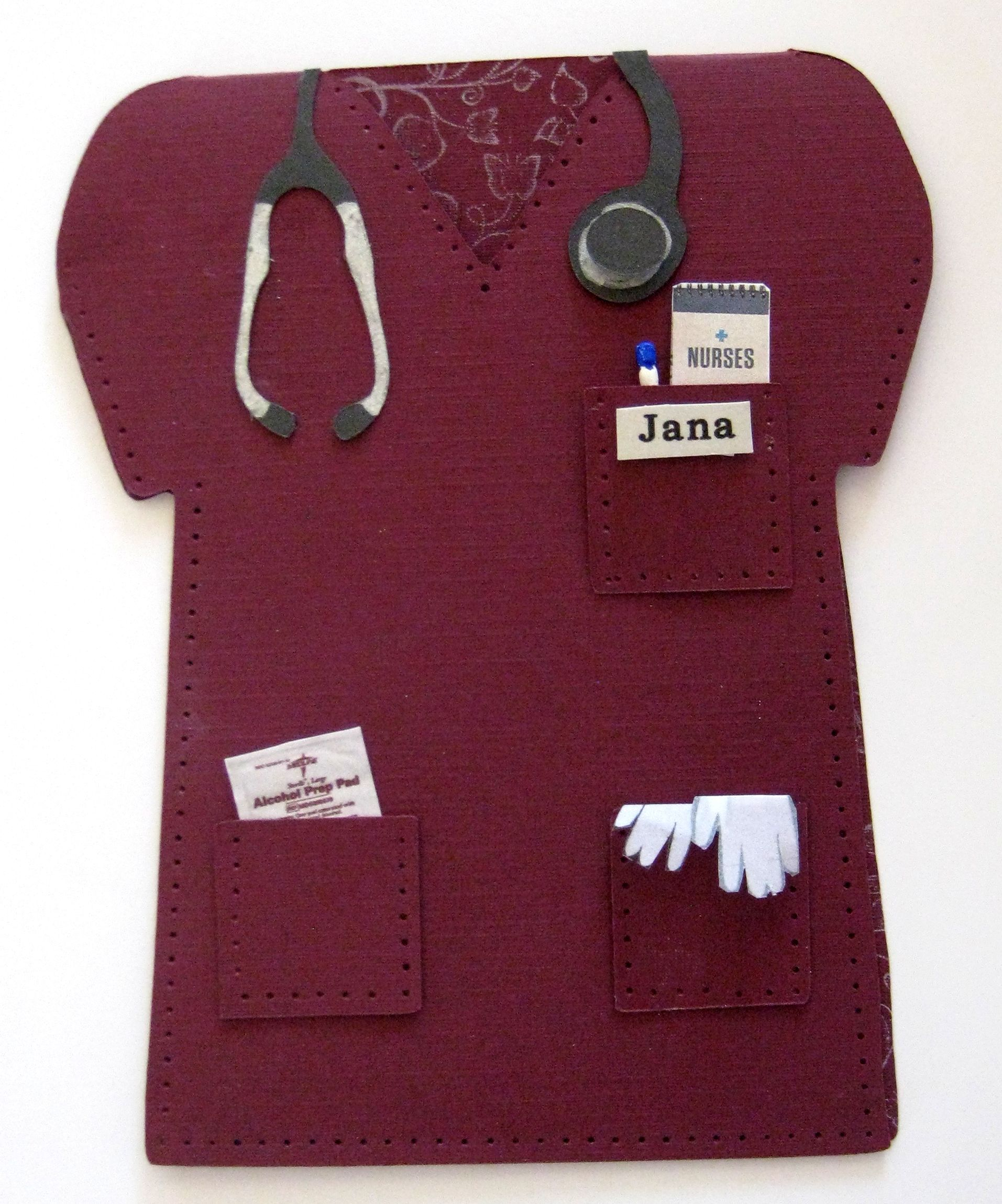 Nurse Graduation Card Graduation Cards Cards Scrapbook Embellishments