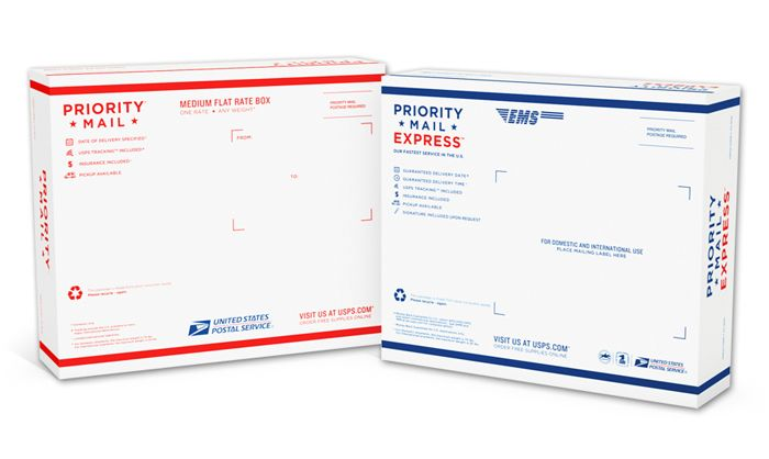 Before After Usps Priority Mail Priorities Packaging Design Inspiration Priority Mail