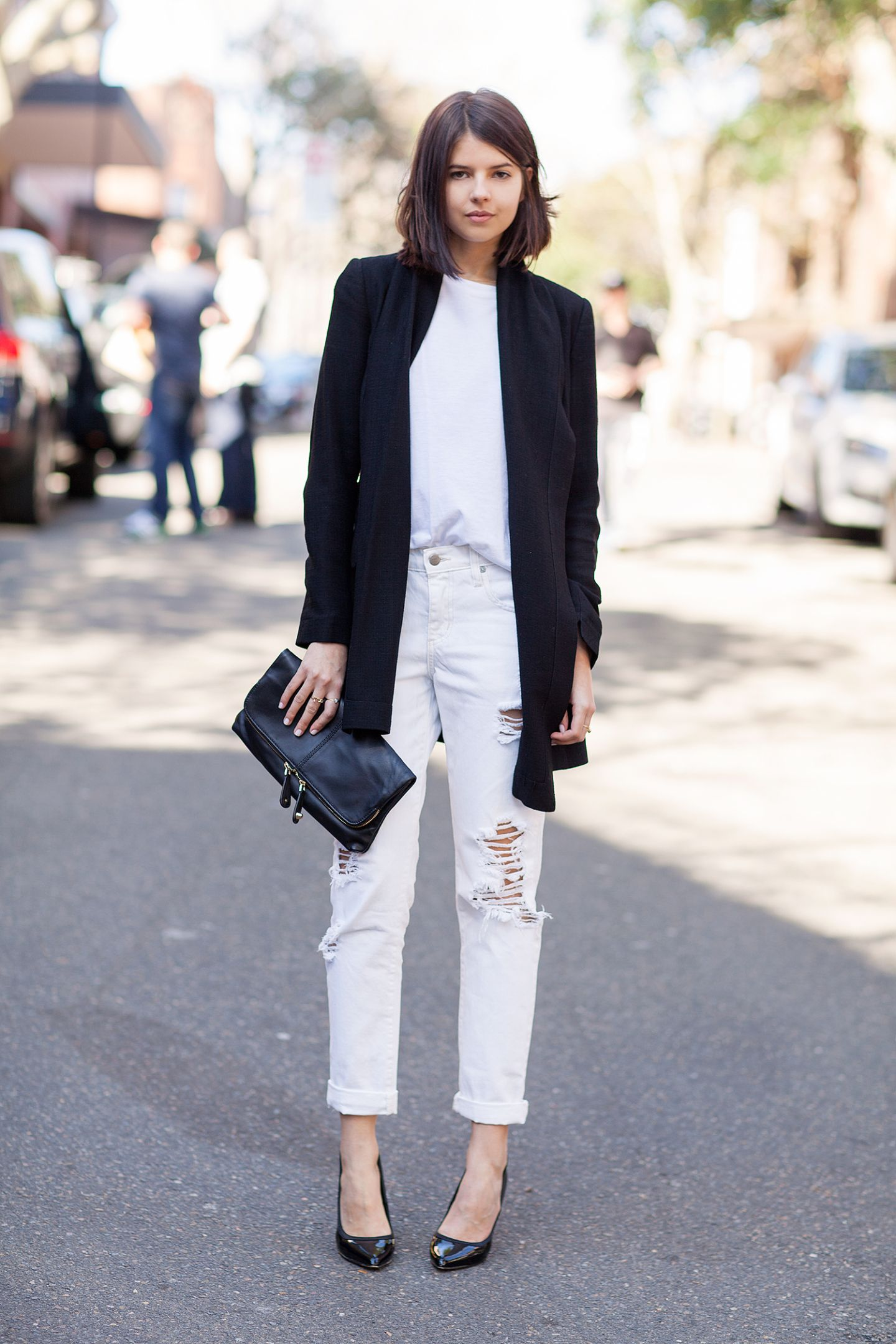 d6c62d39b1 What to Wear With White Jeans  20 Perfect Outfits