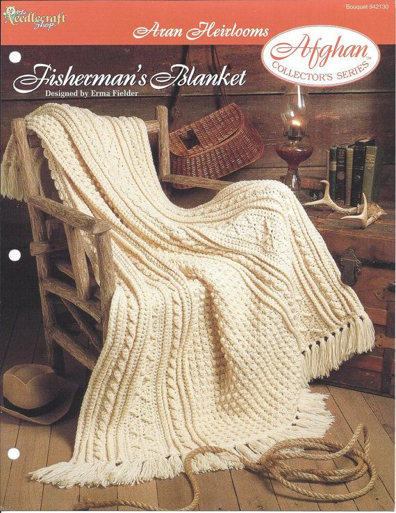 Fisherman\'s Blanket - Afghan Collector\'s Series - The Needlecraft ...