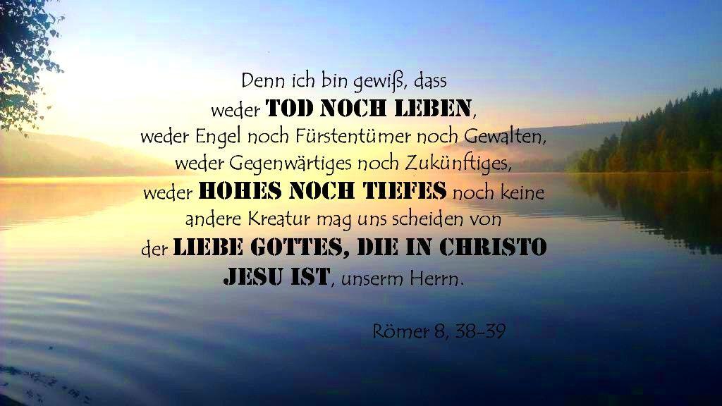 Romer 8 38 39 Bibel Vers